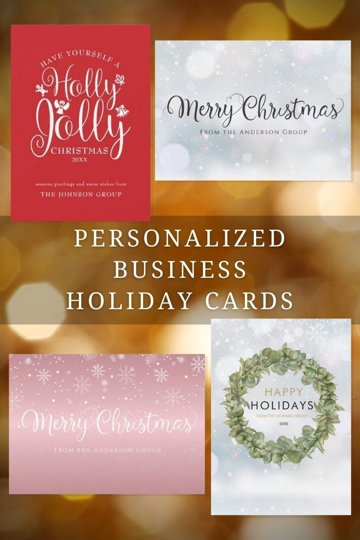 Elegant Business Holiday Cards Holiday Cards Business Christmas Business Holiday Cards