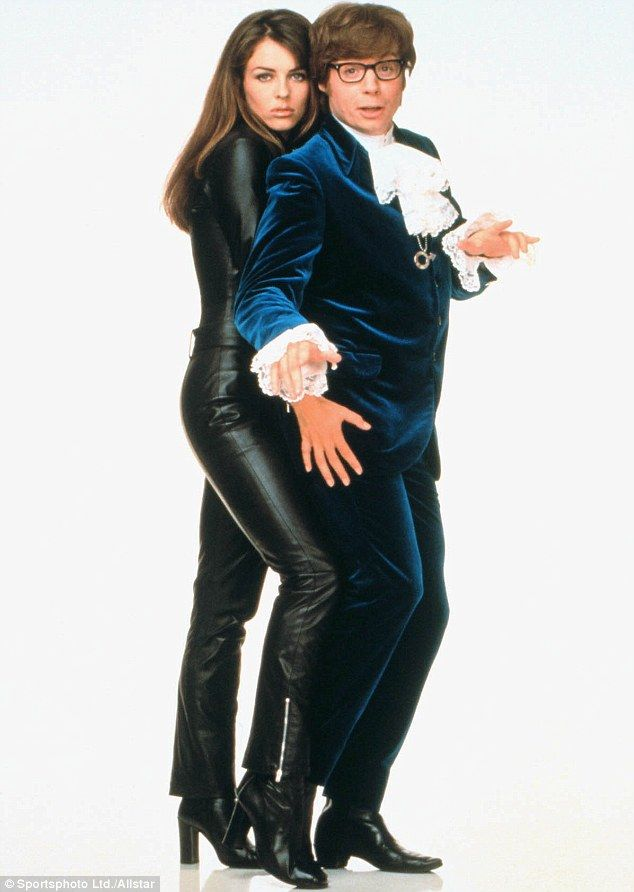 Compare The Hurley Liz Slips Into Leather Catsuit As She -1692