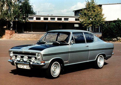 Opel Kadett Coupe Rallye SR 1966