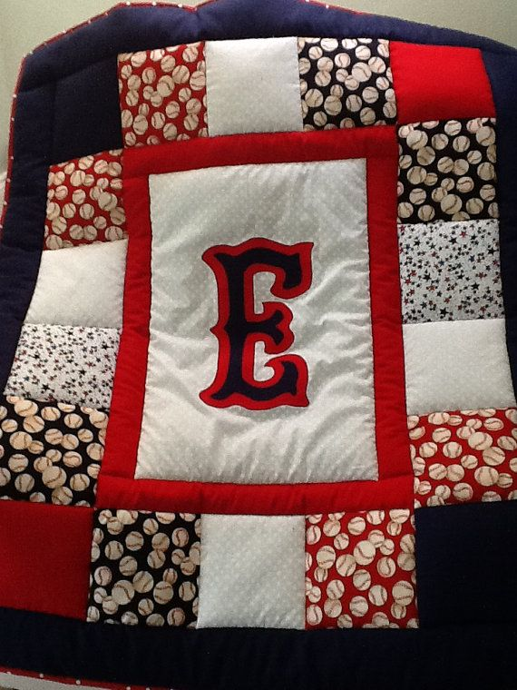 25 best baseball quilt images on Pinterest | Apps, Baby blankets ... : baseball fabric for quilting - Adamdwight.com