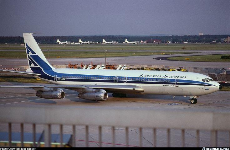 Aerolineas Argentinas Boeing 707-387B