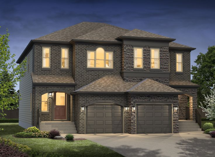Our Hudson / Lexington Duplex ~ available in Greenbury, Spruce Grove.  www.dolcevitahomes.ca