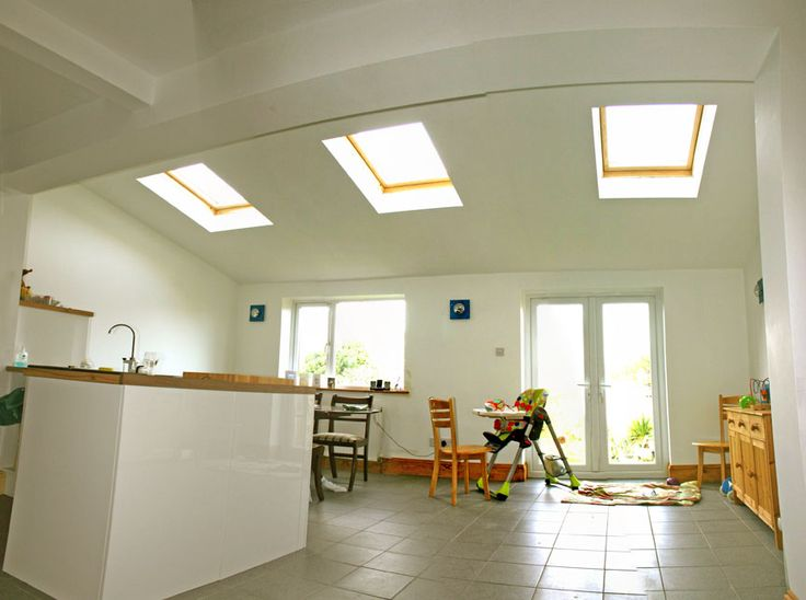 High Vaulted Ceilings Make Such A Difference To Space. Consider It When  Designing Your Home. Roof ExtensionExtension ...