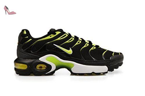 nike air max plus (GS) TN tuned 1 baskets 655020 Baskets - Noir/Volt-blanc, Garcon, 38.5 - Chaussures nike (*Partner-Link)