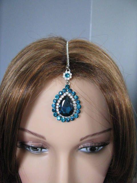 tikka, hair jewelry, indian jewelry, headpiece, tikka headpiece, maang tikka, indian wedding, indian, bollywood jewelry, kundan jewelry by weddingswithflair on Etsy