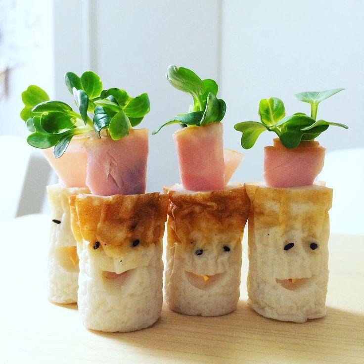 かわいすぎ!お弁当に入れてみたい「ちくわ星人」の作り方 - macaroni 「ちくわ星人」とは?