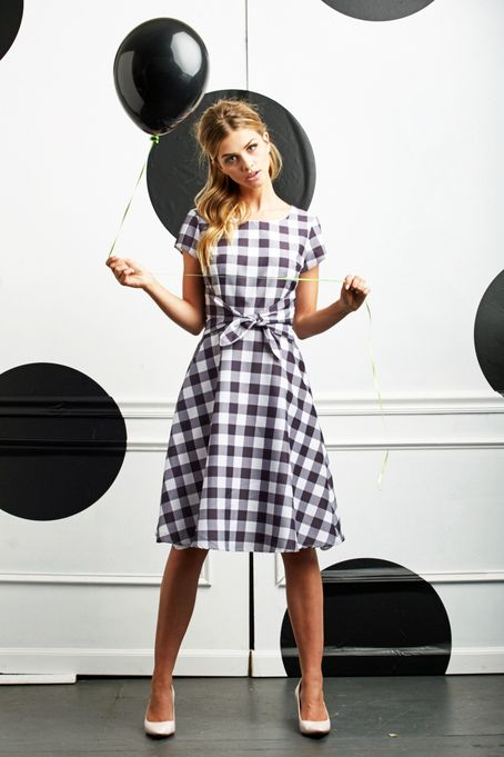 Pretty in Plaid Dress by Shabby Apple