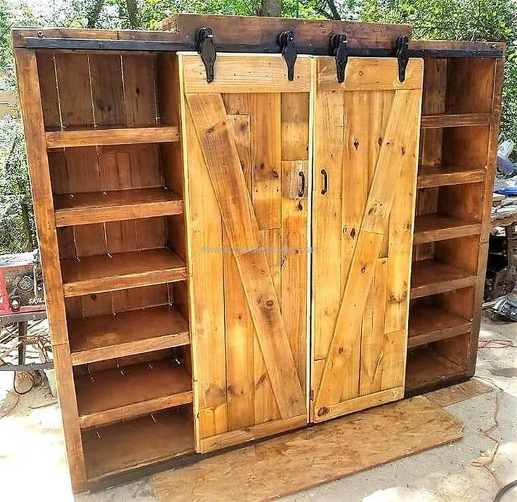 883 best images about re scape wood pallets skids doors for How to make shutters from pallets