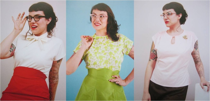 Gertie's creations always inspire me...I love the first two blouses.