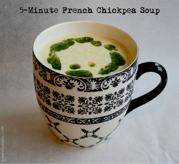Minute, Microwave French Chickpea Soup (GF + V + No Blender ...