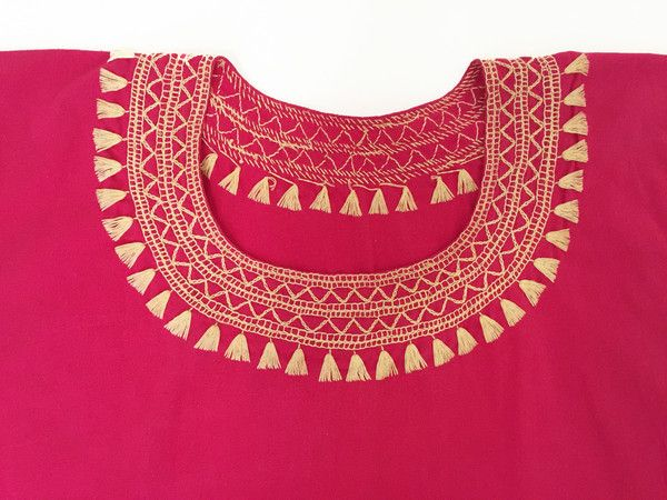 Handmade Pink Blouse - 100 % Cotton - available at azucarmaria.com