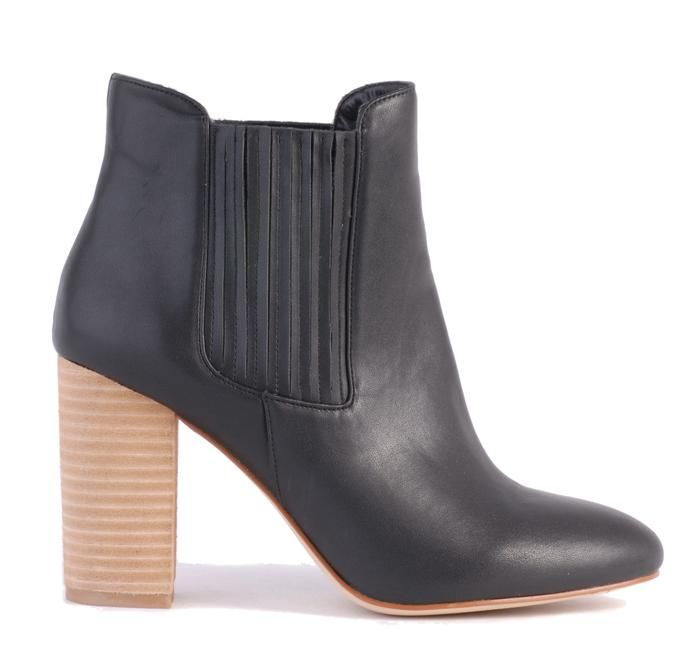 Verali Princess Boot - Black. Chic, contemporary footwear. Click through for more women's Australian fashion clothing.