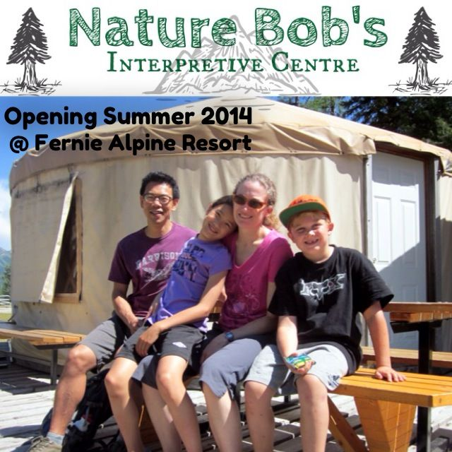 New this summer! The installation of an interpretive centre at the Yurt (top of the Elk Chair). Nature Bob's Interpretive Centre will be full of picture boards and accompanying interpretive information as well as fossil displays for you to check out!