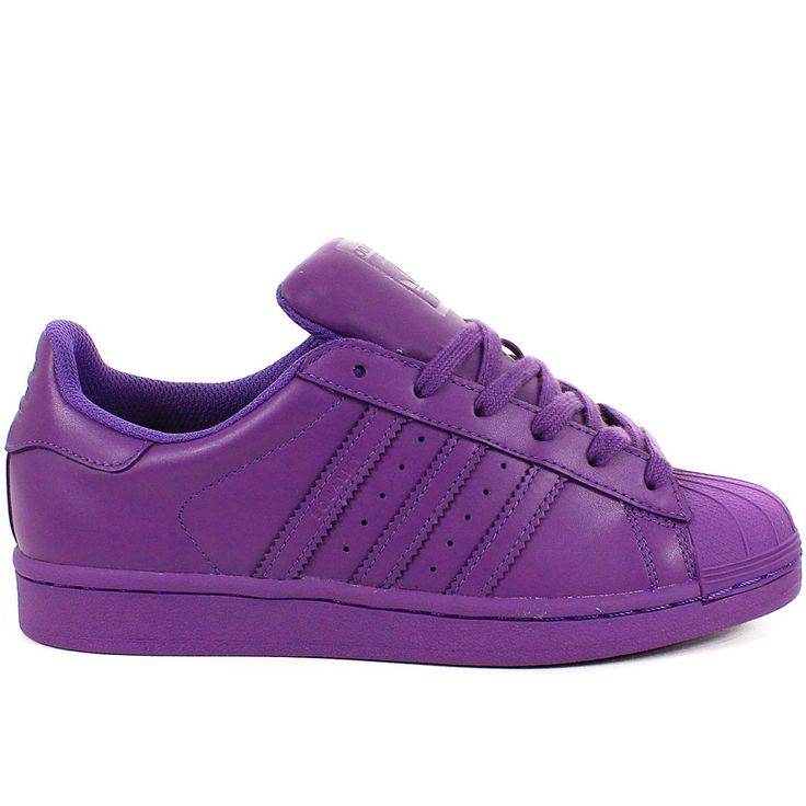 wholesale dealer 47545 63bf4 ... SUPERSTAR SUPERCOLOR BY PHARRELL WILLIAMS VIOLET The adidas Superstar  ...