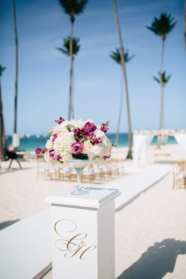 small beach wedding ceremony ideas%0A Find Out What Crazy Hour Is At This Punta Cana Beach Wedding  Wedding  Ceremony IdeasWedding