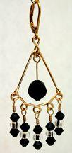 5 Plus 1 Beaded Chandelier Earrings Jewelry Making Project Completed Earring