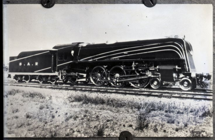 "SAR's [South Australian Railways] 620 class ""Sir Winston Dugan"" locomotive [n.d.]"