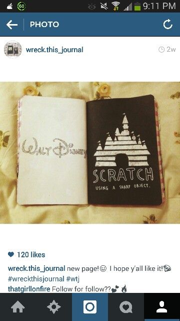 Wreck This Journal Disney