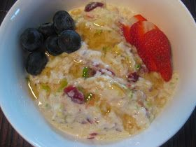 My Thermomix Kitchen - Blog for healthy low fat Weight Watchers friendly recipes for the Thermomix : Bircher Muesli