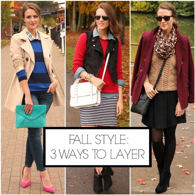 Fall layering ideas #ampedONstyle