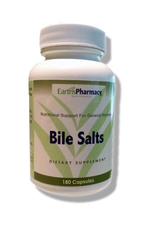 Bile salts help in the breakdown of fats and may be helpful in the prevention of gallstones.