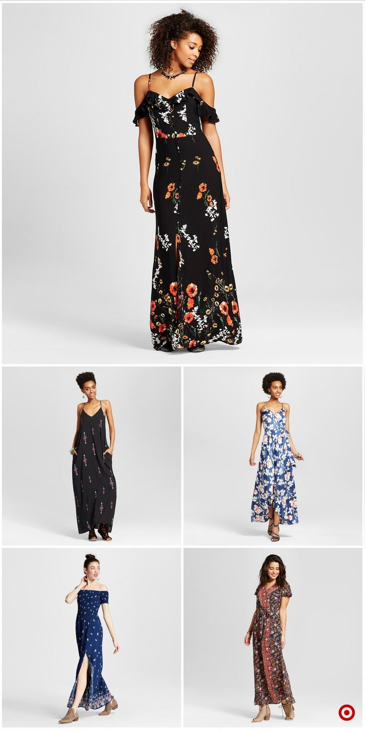Shop Target For Maxi Dresses You Will Love At Great Low Prices Free Shipping On Orders Of 35 Or Free Same Day Pick Up In Stor Dresses Pretty Dresses Fashion [ 1472 x 736 Pixel ]