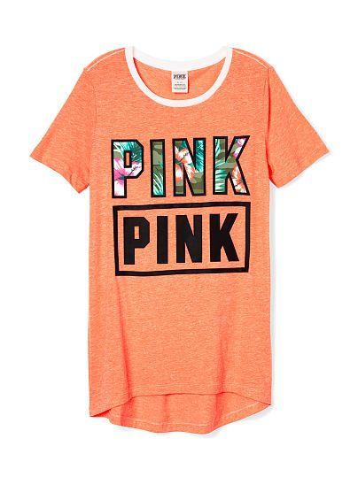 High-Low Tee - PINK - Victoria's Secret