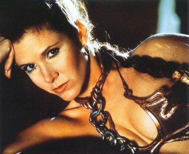 Cleavage Leia Is Slightly Diff is listed (or ranked) 6 on the list The 26 Sexiest Pics of a Young Carrie Fisher (Princess Leia)