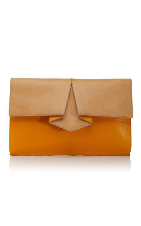 the structural detail kills me >> Clutch bag, Vionnet Resort 2013 via Moda Operandi