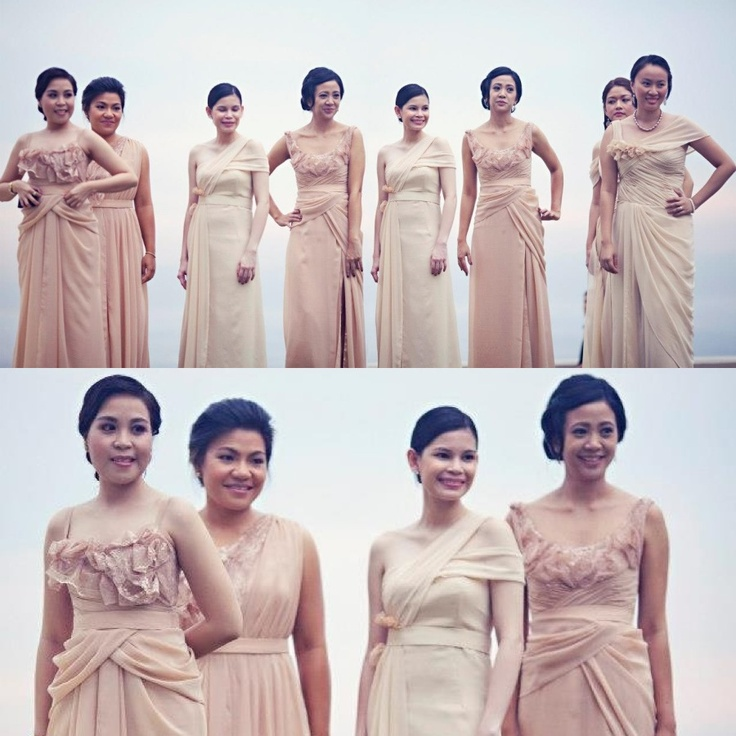 Entourage Drape Lace Gowns Wedding