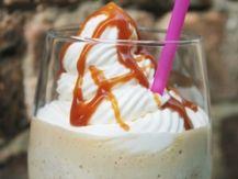Lactose Free Caramel Coffee Frapuccino