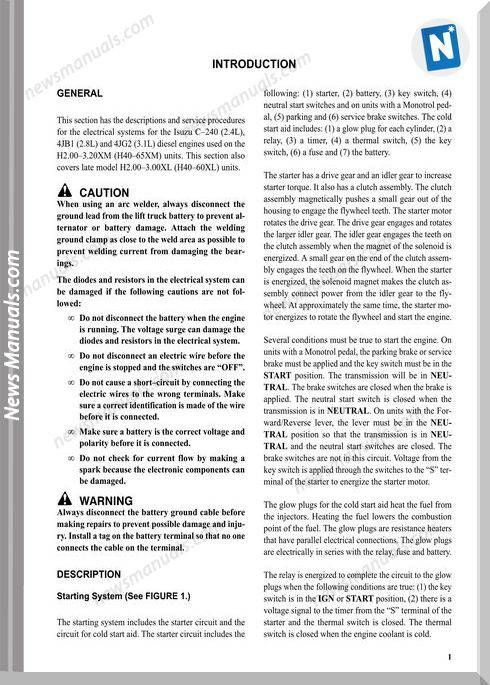 Isuzu 4jb1 Wiring Diagram - Wiring Diagrams ROCK