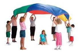 parachute play songs & activities