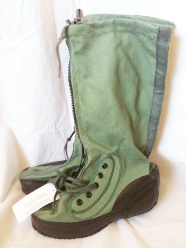 US Military Air Force Extreme Cold Weather Muckluck Snow Combat Boots Shoe WellCo