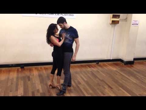 Advanced Salsa Move #217 - The Terry's Shoulder Slides - YouTube