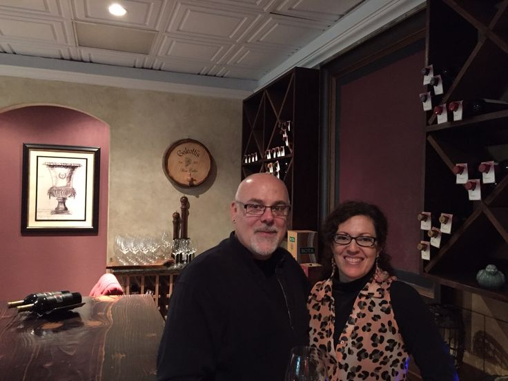 Mike Galeotti, co-owner of Galeotti's Wine Cellar in Battle Ground, Washington, helped open the doors to the new concept wine club and small bites venue on November 5th. Viki Eierdam  #WAwine