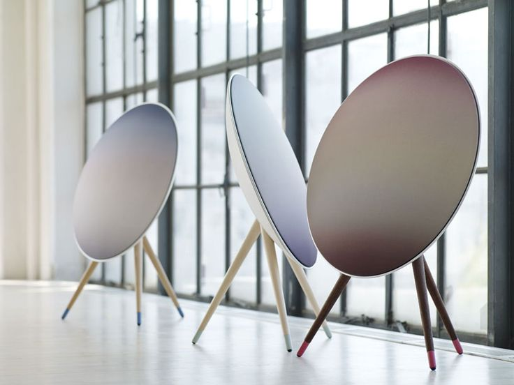 Bang & Olufsen A9 nordic sky wireless speaker reflects the color palette of scandavian summer nights
