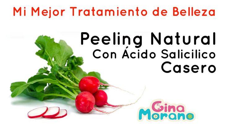 Peeling Natural Con Ácido Salicílico Casero