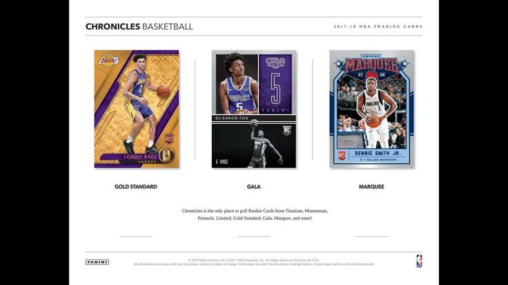 2017 18 chronicles basketball 2 x hobby box preview