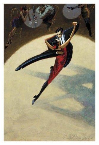 Tango Affiches par Dylan O'connor sur AllPosters.fr@@