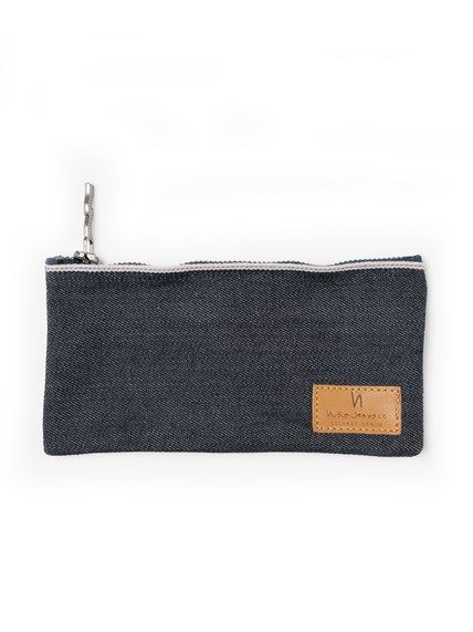 Lyttonsson Pen Case Dry Ropy Selvage Denim - Nudie Jeans Online Shop