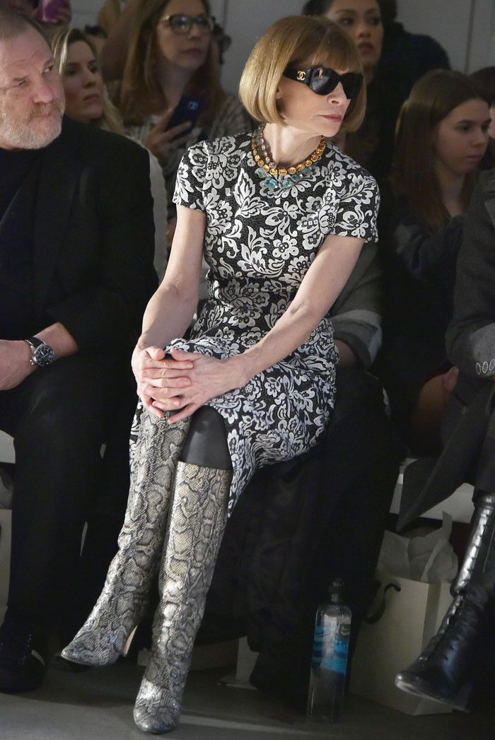 Anna Wintour Can't Stop Wearing These Amazing Boots via @WhoWhatWearUK