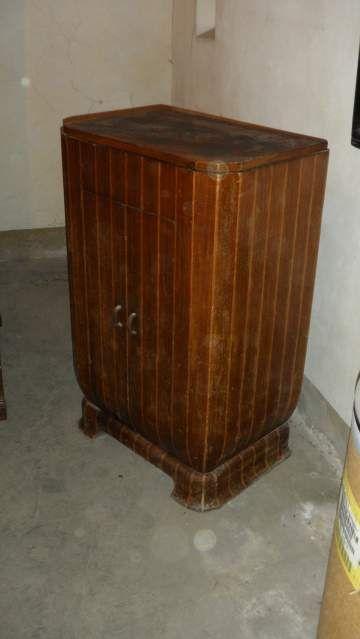 Vintage Mobile porta giradischi Vintage cabinet record player