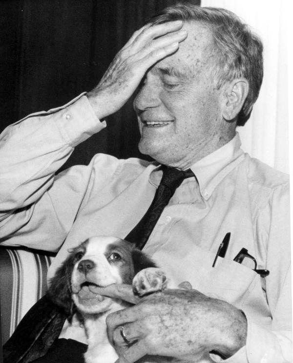 File:Governor Chiles and his dog- Tallahassee, Florida (4563954974).jpg