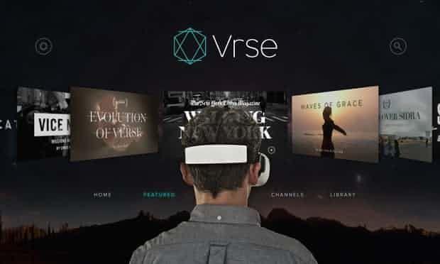 Найкращі програми/додатки віртуальної реальності (VR) для вашого телефона VRSE  app