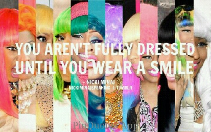 Oh Niki Minaj