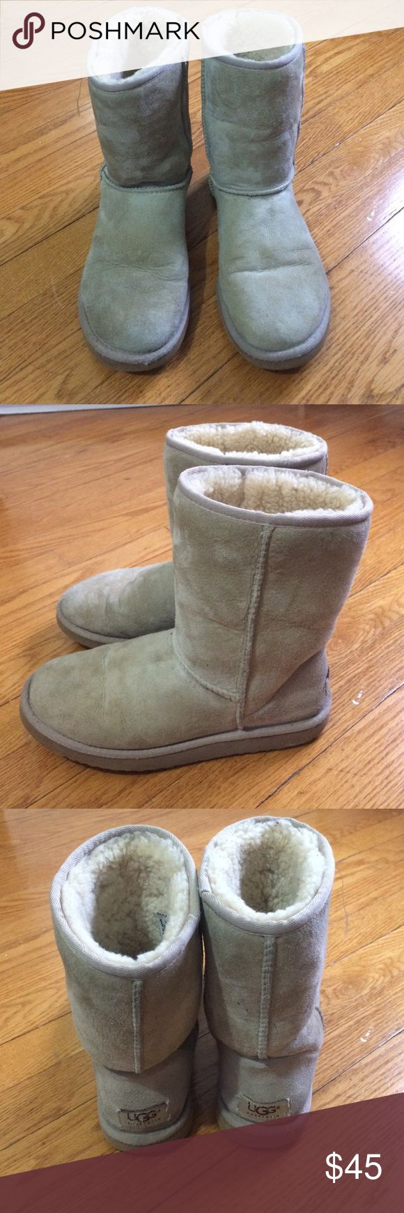UGG Classic Short Sand Size 7 UGG Classic Short Sand Size 7 UGG Shoes Winter & Rain Boots
