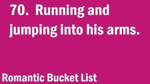 Romantic Bucket List
