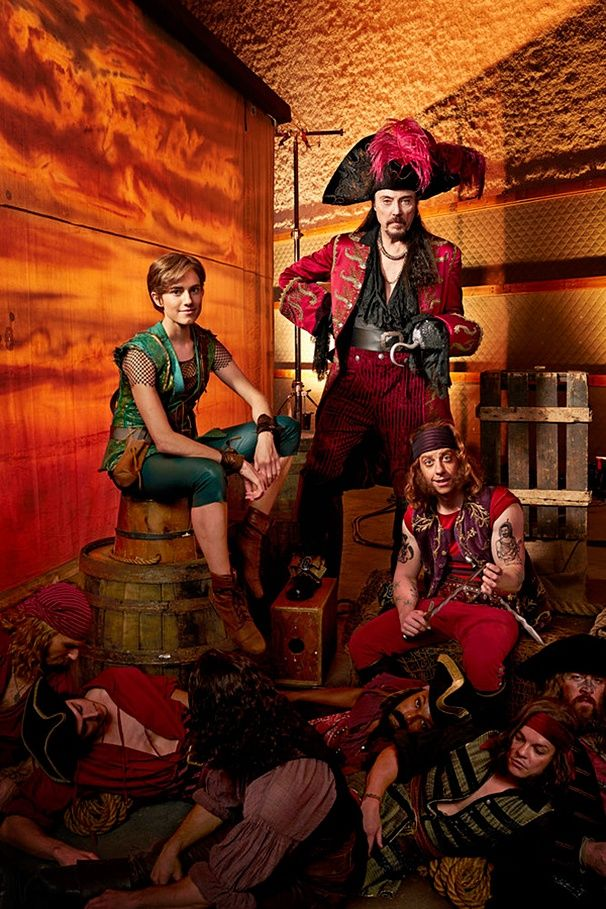 Ahoy! Get a Sneak Peek of Peter Pan Live!'s Allison Williams, Christopher Walken, Christian Borle & the Pirate Crew