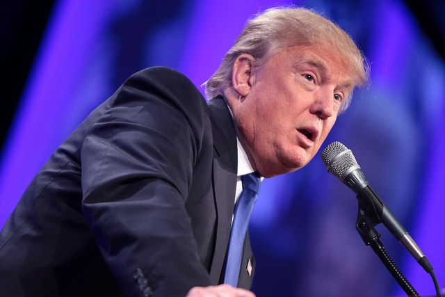 Trump claims Republican healthcare bill covers pre-existing conditions. False. Untrue. Fake.